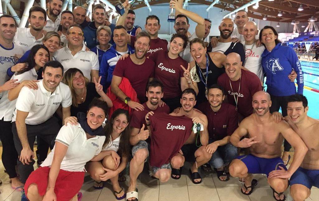 Successo di numeri ai Regionali Master Invernali di nuoto